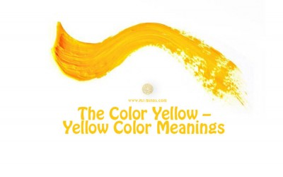 The Color Yellow – Yellow Color Meanings1