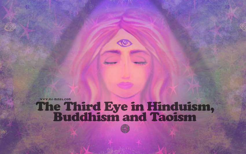 The Third Eye in Hinduism, Buddhism and Taoism