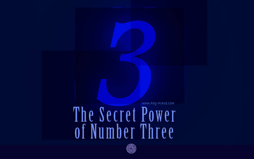 The Secret Power of Number Three
