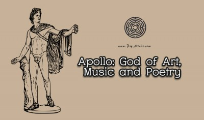 Apollo God of Art, Music and Poetry