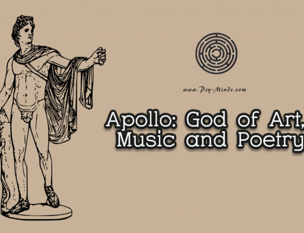 Apollo: God of Art, Music and Poetry