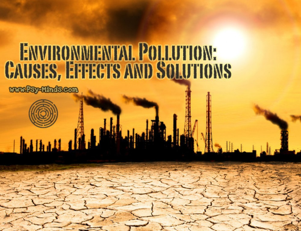 Environmental Pollution: Causes, Effects and Solutions