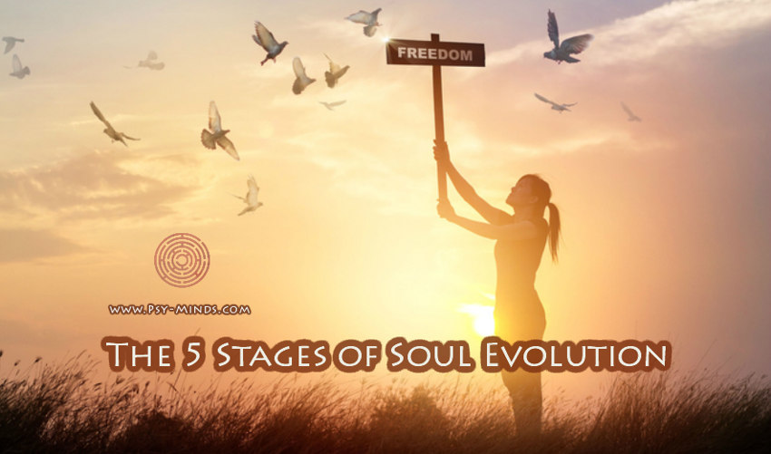 The 5 Stages of Soul Evolution