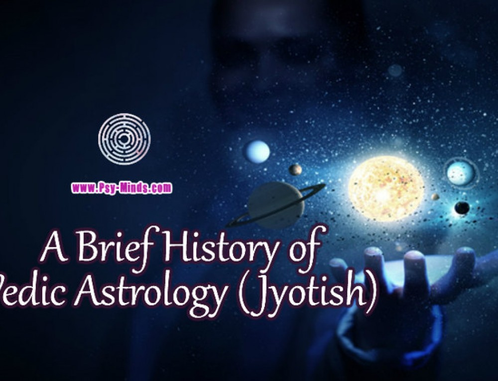 A Brief History of Vedic Astrology (Jyotish)