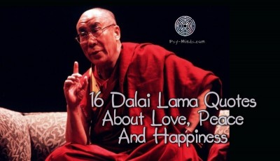 16 Dalai Lama Quotes About Love, Peace And Happiness