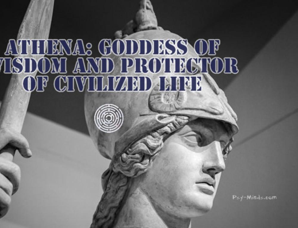 Athena: Goddess of Wisdom And Protector Of Civilized Life