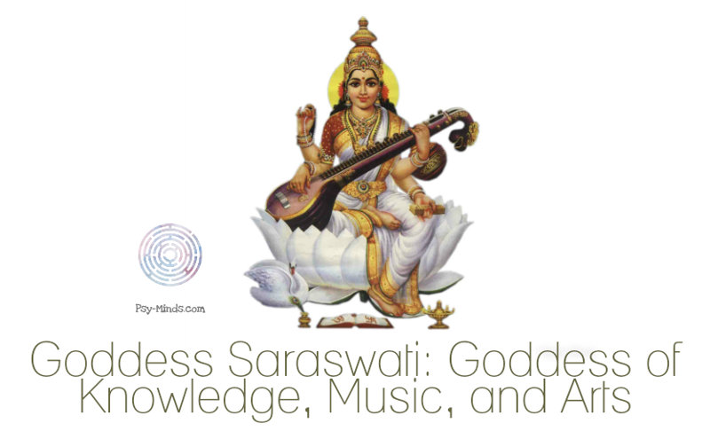 Goddess Saraswati Goddess of Knowledge, Music, and Arts