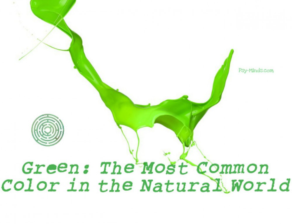 Green: The Most Common Color in the Natural World