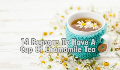 14 Reasons To Have A Cup Of Chamomile Tea