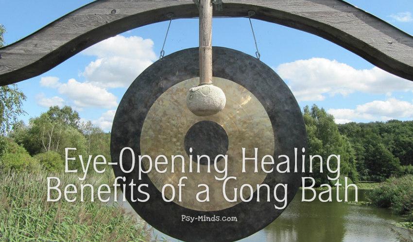 Eye-Opening Healing Benefits of a Gong Bath