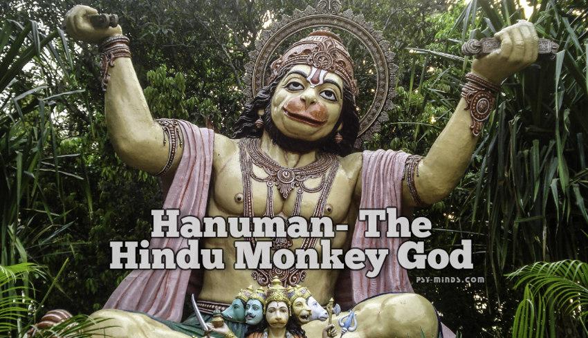 Hanuman- The Hindu Monkey God