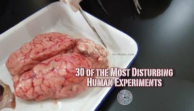 30 of the Most Disturbing Human Experiments
