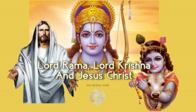 Lord Rama, Lord Krishna And Jesus Christ