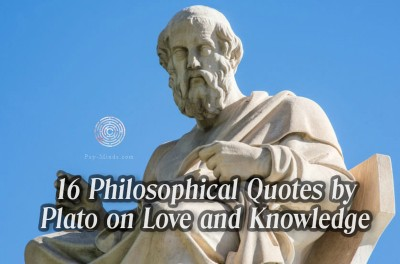 16 Philosophical Quotes by Plato on Love and Knowledge