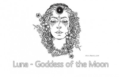 Luna - Goddess of the Moon