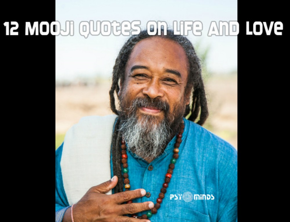 12 Mooji Quotes on Life and Love