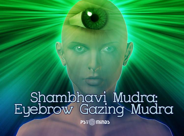 Shambhavi Mudra Eyebrow Gazing Mudra