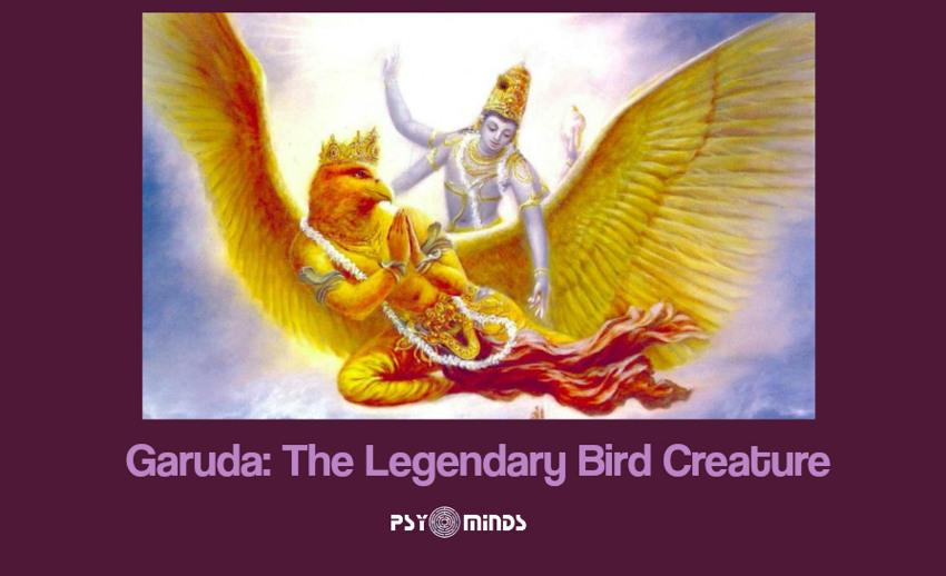 Garuda The Legendary Bird Creature
