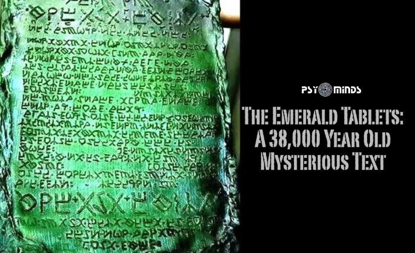 The Emerald Tablets A 38,000 Year Old Mysterious Text