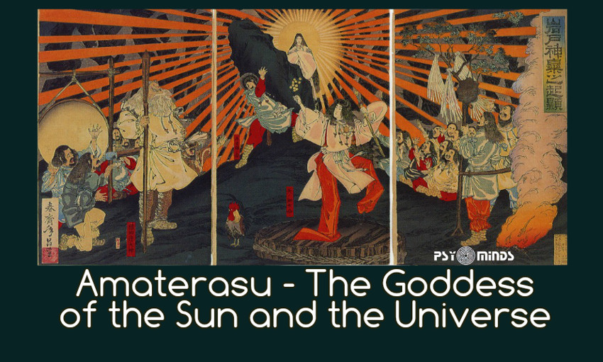 Amaterasu The Goddess of the Sun and the Universe