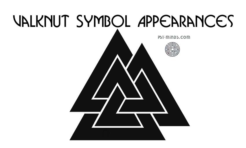 Valknut Symbol Appearances
