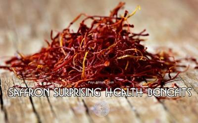 Saffron Surprising Health Benefits