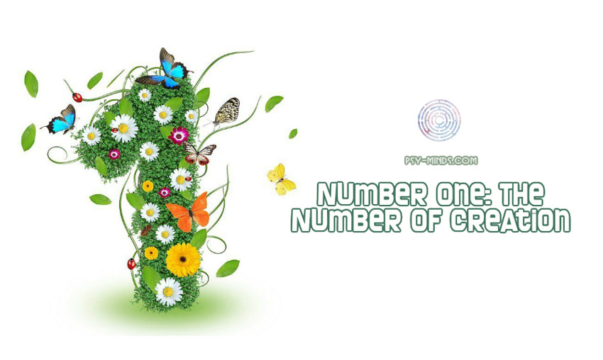Number One The Number of Creation