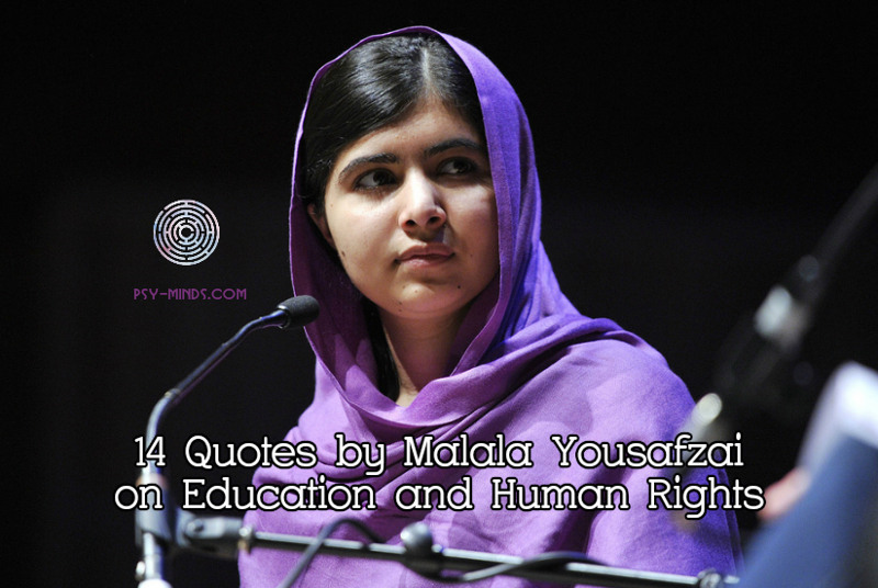 14 Quotes by Malala Yousafzai on Education and Human Rights