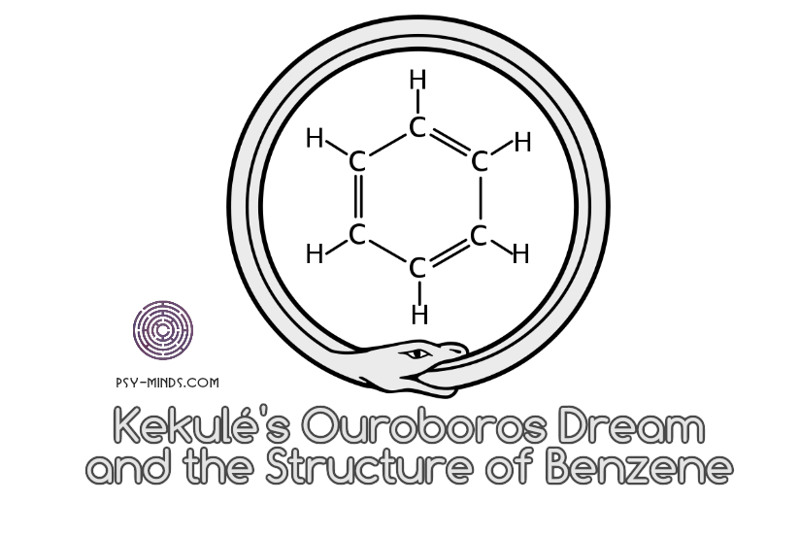 Kekulé's Ouroboros Dream and the Structure of Benzene