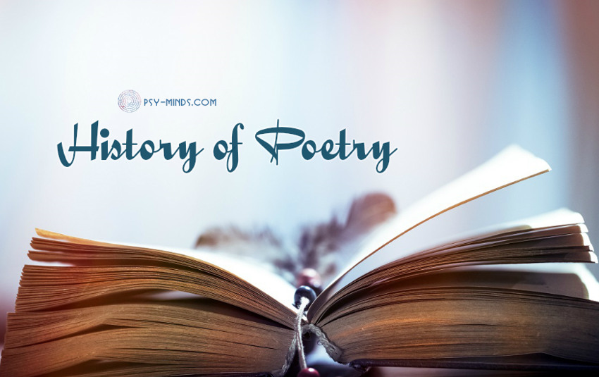 History of Poetry