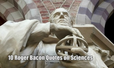 10 Roger Bacon Quotes on Sciences