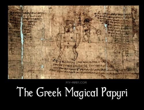 The Greek Magical Papyri