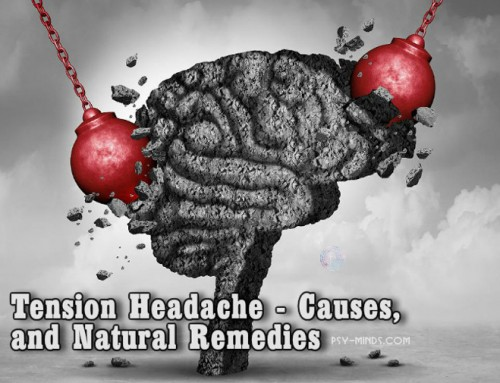 Tension Headache – Causes, and Natural Remedies