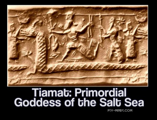 Tiamat: Primordial Goddess of the Salt Sea