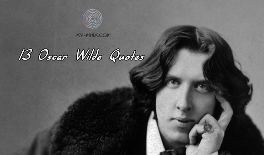 13 Oscar Wilde Quotes