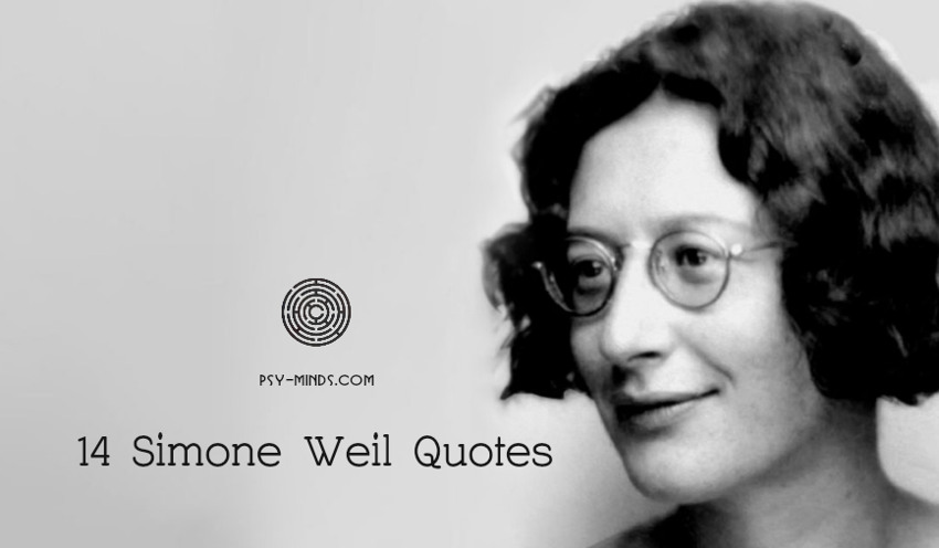 14 Simone Weil Quotes