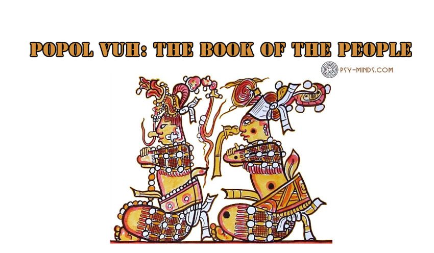Popol Vuh The Book of the People