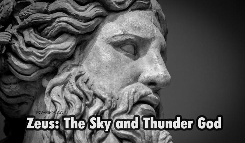 Zeus The Sky and Thunder God