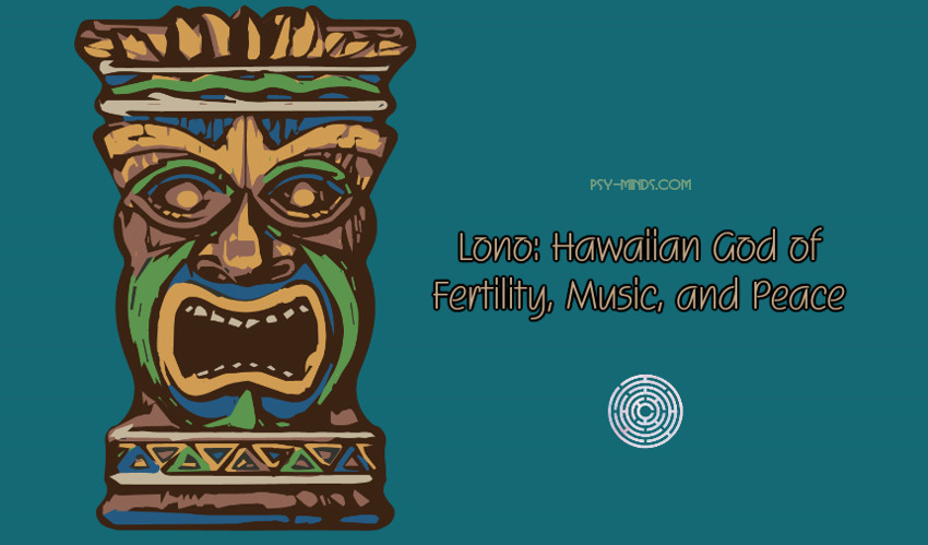 Lono Hawaiian God of Fertility, Music, and Peace