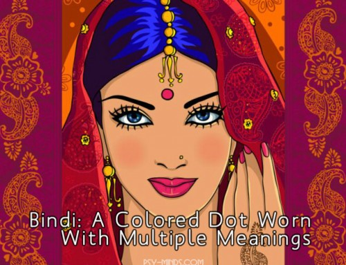 Bindi: A Colored Dot Worn With Multiple Meanings