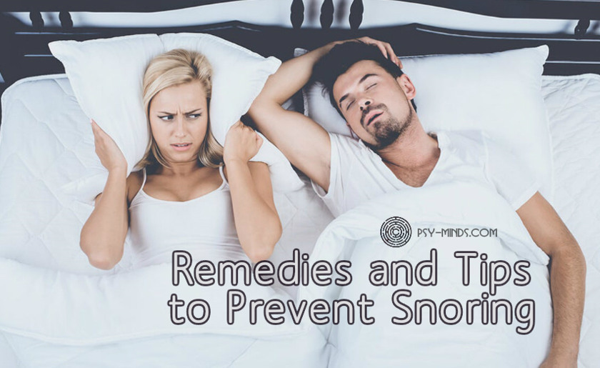 Remedies and Tips to Prevent Snoring