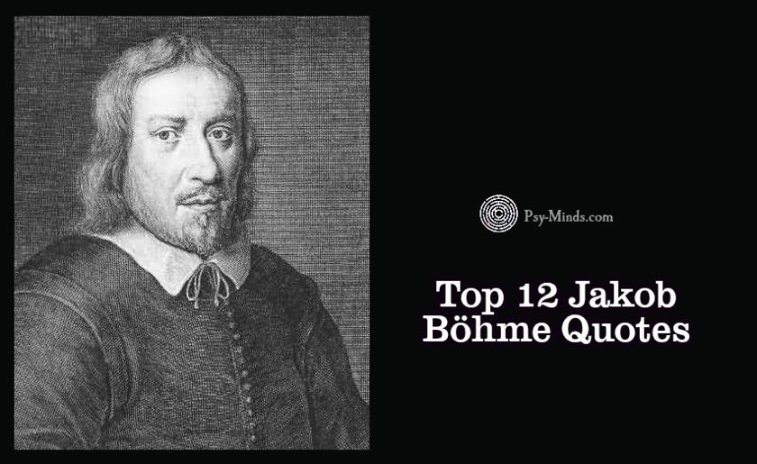 Top 12 Jakob Böhme Quotes