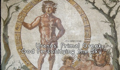Uranus Primal Greek God Personifying the Sky