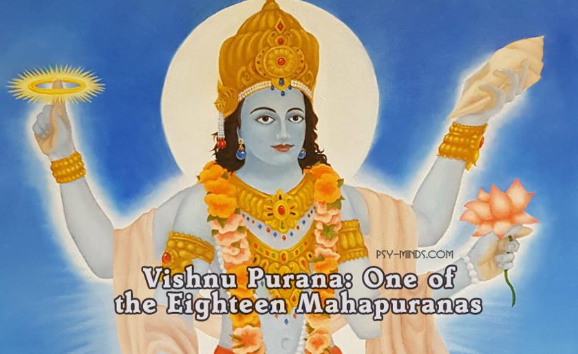 Vishnu Purana One of the Eighteen Mahapuranas