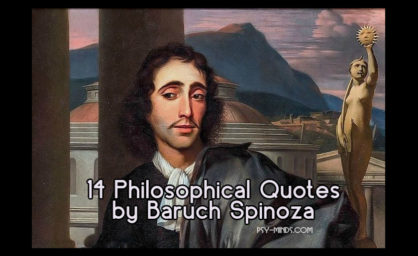 14 Philosophical Quotes by Baruch Spinoza