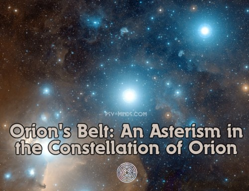 Orion's Belt: An Asterism in the Constellation of Orion