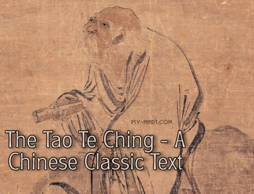 The Tao Te Ching – A Chinese Classic Text