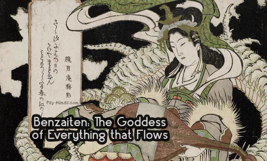 Benzaiten The Goddess of Everything that Flows