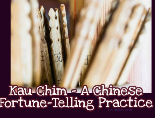 Kau Chim – A Chinese Fortune-Telling Practice