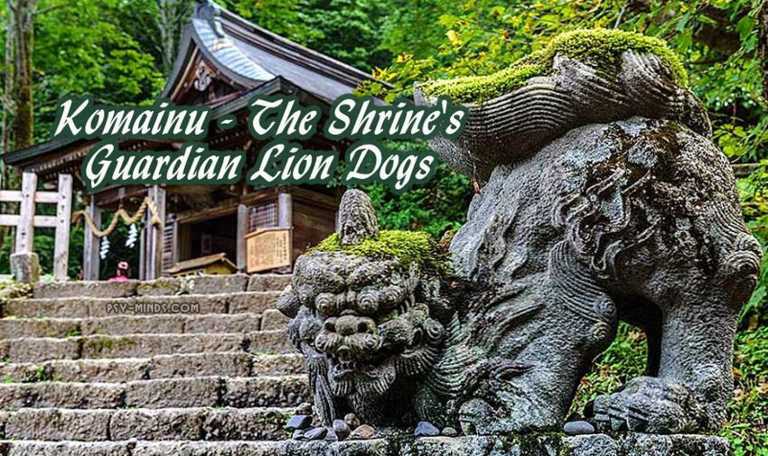 Komainu - The Shrine's Guardian Lion Dogs